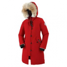 Brittania Down Parka Girls', Red, M by Canada Goose