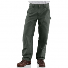 Men's Washed Duck Double Front Work Dungaree Pant by Carhartt