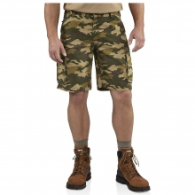 Men's Rugged Cargo Camo Short