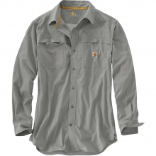 Men's Force Mandan Solid Long Sleeve Woven Shirt by Carhartt