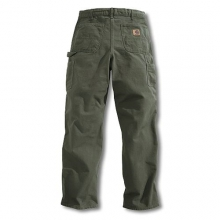 Men's Washed-Duck Work Dungaree Pant