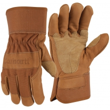 Men's A518 Grain Leather Work Glove Brown