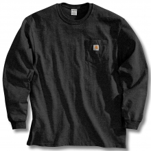 Men's Workwear Pocket Long Sleeve T-Shirt by Carhartt in Anchorage AK