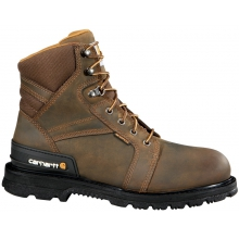 "Men's 6"" Safety Toe Work Boot Brown"