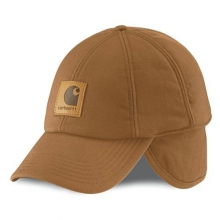 Men's A199 WorkFlex™ Ear Flap Cap Brown M/L