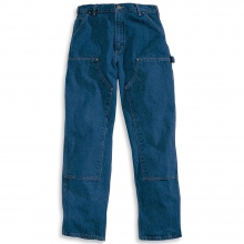Men's Original Fit Double Front Washed Logger Jean by Carhartt in Anchorage AK