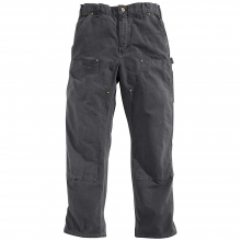 Men's Washed Duck Double Front Work Dungaree Pant