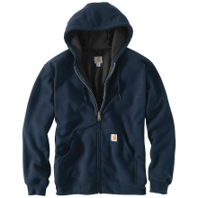 Men's Rain Defender Rutland Thermal Lined Hooded Zip Front Sweatshirt by Carhartt