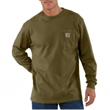 Men's K126 Long Sleeve Workwear T-Shirt by Carhartt in Anchorage AK