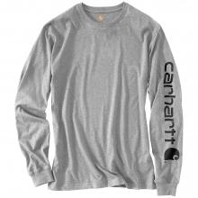 Men's Signature Sleeve Long Sleeve T-Shirt by Carhartt