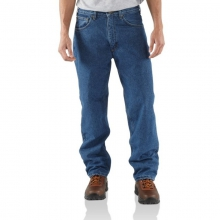 Men's Relaxed Fit Jean - Straight Leg/Fleece