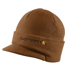 Men's Knit Hat with Visor by Carhartt