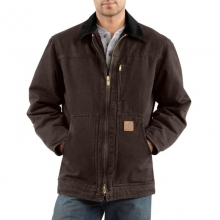 Sandstone Ridge Coat/Sherpa-Lined Jacket