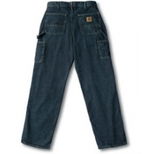 Men's B13 Washed Denim Work Jeans Dark Stone Denim