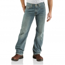 - Relaxed Straight Jean - 32 - 30 - Light Weathered Blue