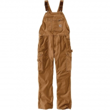 Men's Double Barrel Bib Overalls