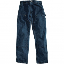 Men's Relaxed Fit Double Front Washed Logger Jean