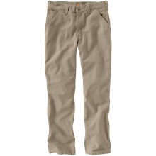 Men's Relaxed Fit Washed Duck Work Dungaree Pant