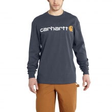 Men's Signature Logo Long Sleeve T-Shirt by Carhartt