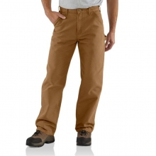 Men's Washed Duck Work Dungaree Pants by Carhartt