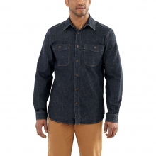Men's Rugged Flex Patten Denim Shirt