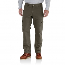 Men's Ripstop Cargo work Flannel Lined Pant