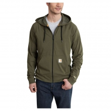 Men's Force Cotton Delmont Zip Front Hoodie