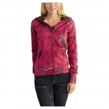 Women's Clarksburg Camo Zip Front Sweatshirt