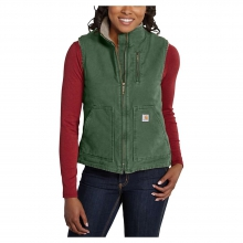 Women's Sandstone Mock Neck Vest in Anchorage, AK