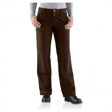 Women's Relaxed Fit Sandstone Kane Dungaree Pant by Carhartt
