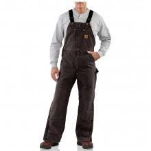 Men's Quilt Lined Sandstone Bib Overall