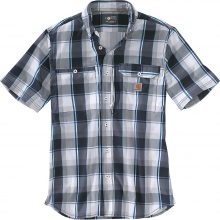 Men's Force Ridgefield Plaid SS Shirt