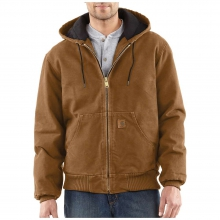 Men's Quilted Flannel Lined Sandstone Active Jacket by Carhartt