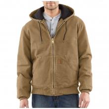 Men's Quilted Flannel Lined Sandstone Active Jacket