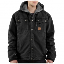 Men's Sandstone Hooded Multi-Pocket Jacket