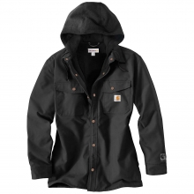 Men's Quick Duck Roane Hooded Shirt Jacket