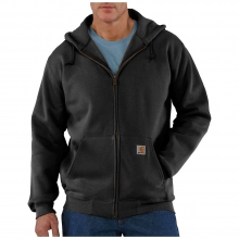 Men's Heavyweight Hooded Zip Front Sweatshirt