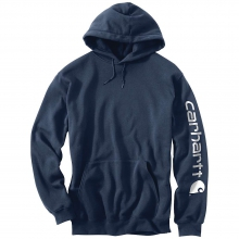 Men's Midweight Signature Sleeve Logo Hooded Sweatshirt in Pocatello, ID
