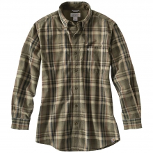 Men's Bellevue Plaid Long Sleeve Shirt by Carhartt
