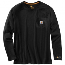 Men's Force Cotton Long Sleeve T- Shirt by Carhartt