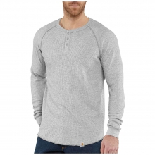 Men's Lightweight Thermal Knit Henley Top