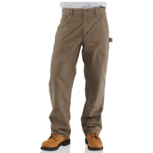 Men's Double Front Canvas Work Dungaree Pant