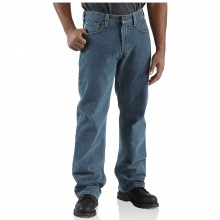 Men's Loose Fit Straight Leg Jean