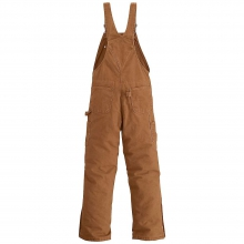 Men's Quilt Lined Sandstone Bib Overall by Carhartt