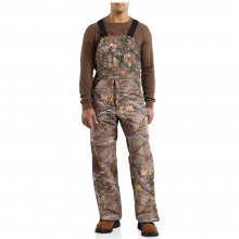 Men's Quilt Lined WorkCamo Bib Overall