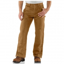 Men's Sandstone Waist Overall Quilt Lined Pant