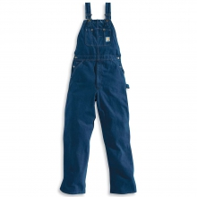 Men's Washed Denim Bib Overall by Carhartt