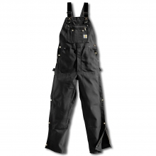 Men's Zip To Thigh Bib Overall