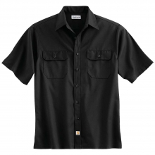 Men's Twill SS Work Shirt by Carhartt