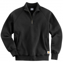 Men's Midweight Quarter Zip Mock Neck Sweatshirt